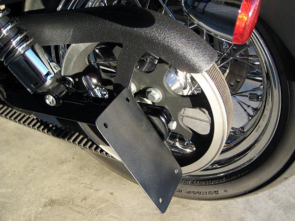 Harley Textured Black Paint